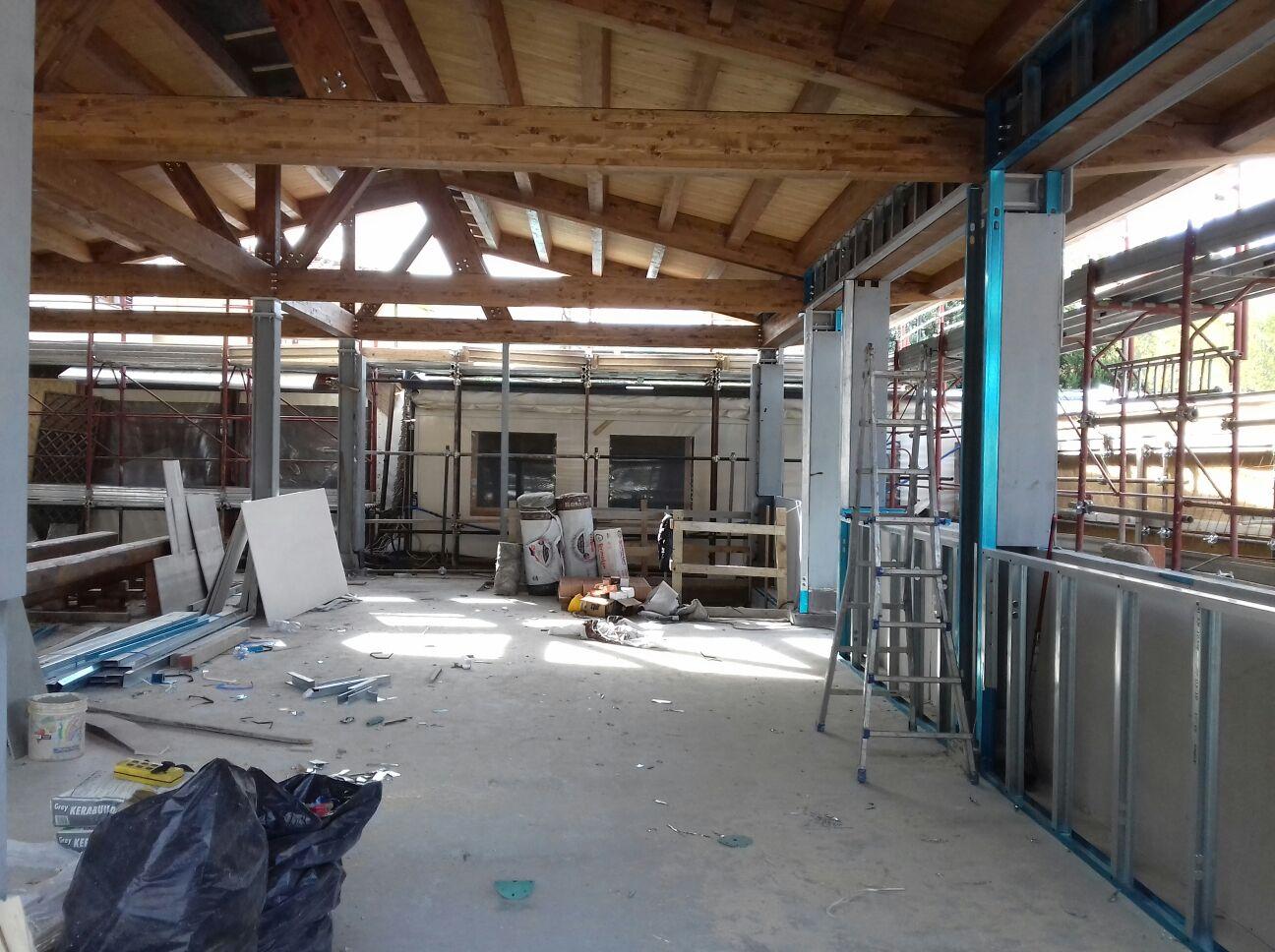 WORKS AT ACQUACHETA RESTAURANT, FLORENCE - Travelli Srl